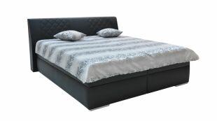Čalouněná postel EMMA s úložným prostorem
