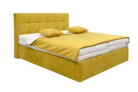 HONORE boxsprinová postel s úložným prostorem