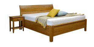 VIKTORIE dřevěná manželská postel