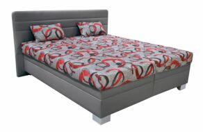 XENA čalouněná postel Šedá