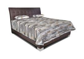 SASHA luxusní postel LOFT BROWN
