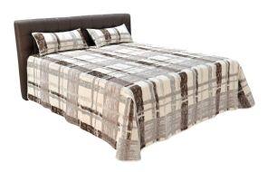 DECO luxusní postel BRONCO BROWN